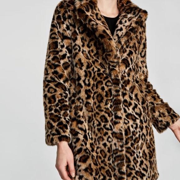 b3b3e6c9 Zara Jackets & Coats | Cheetah Coat | Poshmark